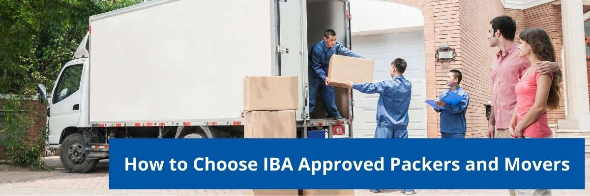 IBA Approved Packers and Movers